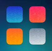 Tło ikony aplikacji. — Wektor stockowy