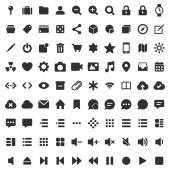 Pixel perfect line icons pack — Vector de stock