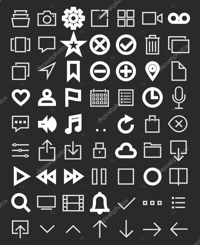 пакет иконок: