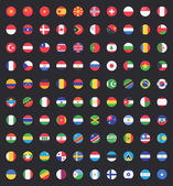 Flag of world — Stock Vector
