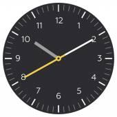 Clock app icon template. — Stock Vector