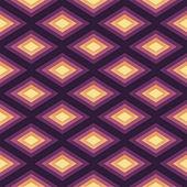 Abstract Romb seamless geometric pattern.Vector illustration — Vector de stock