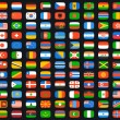 Flags of world — Stock Vector #70901017