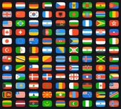 Flags of world — Stock Vector