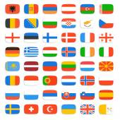 Flag of world — Stock Vector