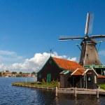 Windmills of Holland — Stock Photo