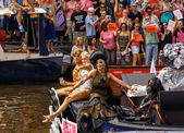 Amsterdam  Gay Pride 2014 — Stock Photo