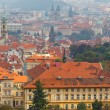 Views over Prague from the height of Petrin Hill. — Stock Photo #55333393