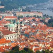 Views over Prague from the height of Petrin Hill. — Stock Photo #55333411
