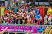 Orgoglio gay amsterdam 2014 — Foto Stock
