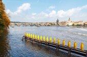 View of the Charles Bridge, Prague. — Stock Photo