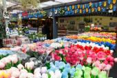 Amsterdam flower market. — Stock Photo