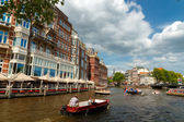 Canals of Amsterdam. — Photo