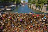 Paris. Pont. — Stock Photo