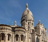 Sacre Coeur, Montmartre, Paris, France. — Stock Photo