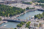 Alexander III bridge in Paris. — Stock Photo