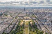Paris. Champ de Mars — Stock Photo