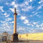 Petersburg. Alexander Column. — Stock Photo #59541831