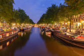 Canals of Amsterdam. — Stock Photo
