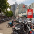 Bicycle parking in Amsterdam. — Stock Photo #59972229