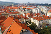 View of Prague from a height. — Stock Photo