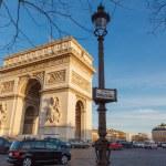 Paris. Arc de Triomphe. — Stock Photo #61711359