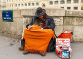 Paris. Homeless. — Stock Photo
