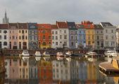 Gent. River Leie. — ストック写真