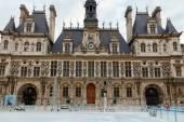 Paris. Hotel-de-Ville (City Hall). — Stock Photo