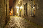 Street in Bruges. — Stock Photo