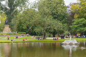 Amsterdam. Vondelpark. — Stock Photo