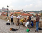 Prague. Charles Bridge. — Stock Photo