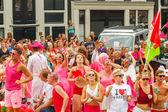 Amsterdam  Gay Pride 2014. — Stock Photo