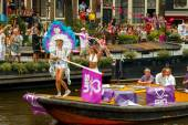 Amsterdam  Gay Pride 2014. — Stock Photo