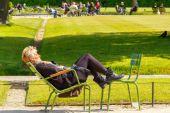 Paris. Tuileries Garden. — Stock Photo