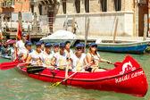 Italy. Venice. Vogalonga Regatta. — Stock Photo
