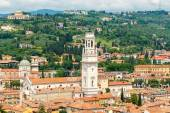 View of Verona from above. — Stock Photo