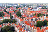 Gdansk. Top view. — Stock Photo