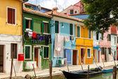 Italy. The island of Burano. — Stock Photo