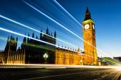 Big Ben at Westminster in London — 图库照片