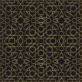 Ornamental morocco seamless pattern. Orient traditional ornament. Oriental motif. Gradient RGB — Stock Vector