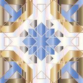 Ornamental round marocco seamless pattern. Orient traditional ornament. Oriental motif. — Stock Vector