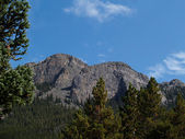 View in Estes Park From Bald Pate Inn — Stock Photo