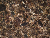 Dark Brown Cracked Marble Texture — Foto Stock