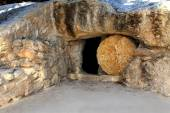Replica of the Tomb of Jesus in Israel — Stock Photo
