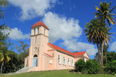 Our Lady of Perpetual Help Church in Tyrells Parish in Antigua Barbuda in the Caribbean Lesser Antilles West Indies. — Stock Photo