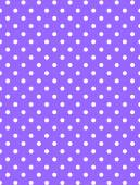 Jpg.  Purple background with white polka dots. — Vector de stock