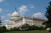 USA capitol building in Washington DC — Stock Photo