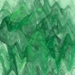 Variegated Wavy fractal background in shades of green. — Stock Photo #56022695