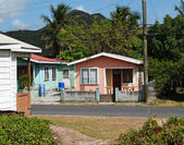 Homes in Antigua Barbuda — Stock Photo